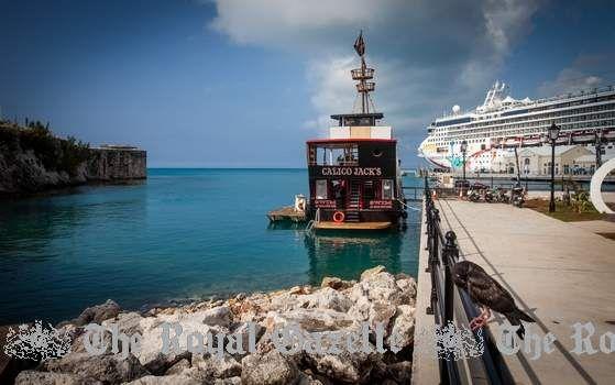 Calico Jacks In Bermuda Floating Pirate Ship Bar At The