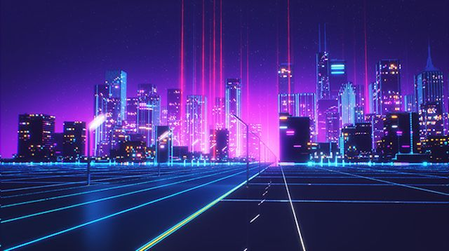 80s style retrowave animation 80s style animation and - Space 80s wallpaper ...