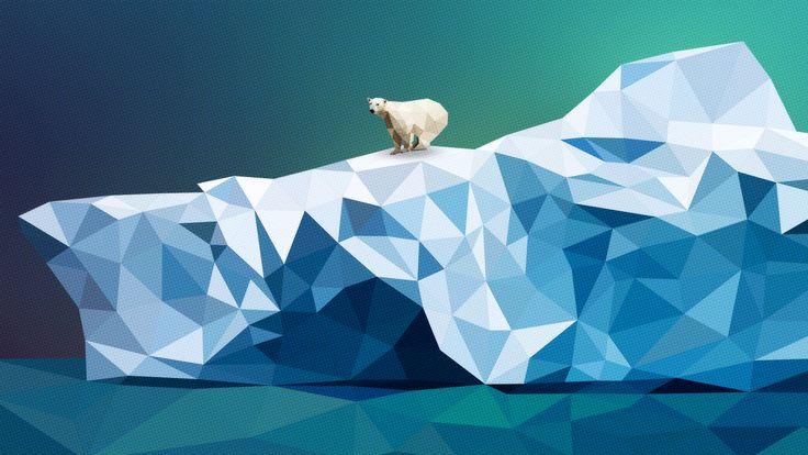 polygon art animal - Поиск в Google