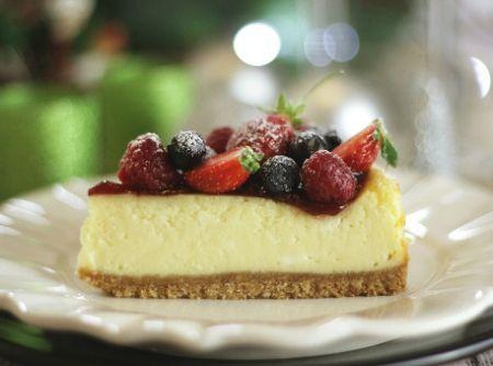 Cheesecake de Frutas Vermelhas - Veja mais em: http://www.cybercook.com.br/receita-de-cheesecake-de-frutas-vermelhas.html?codigo=117035