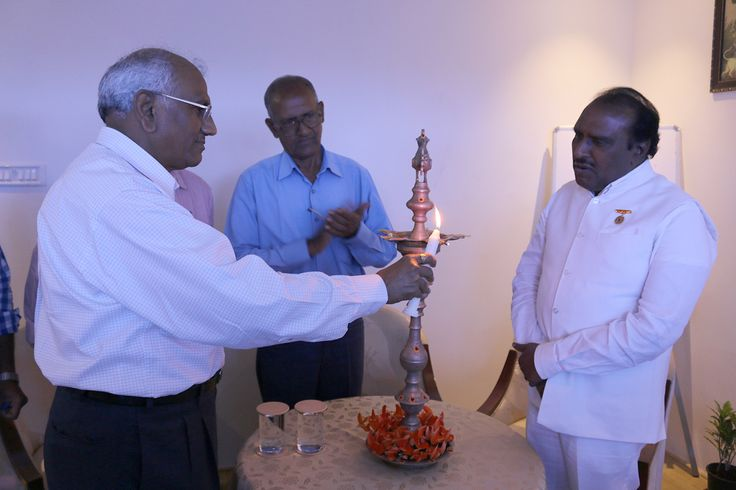 Chief Guest Dr. G.B.K. Rao and Special Guest at the Meet Up