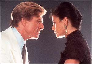 Robert Redford With His Family   Movie plot ... Robert Redford and Demi Moore