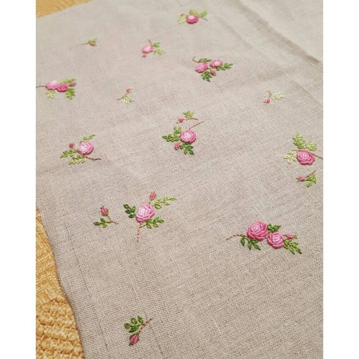 "388 Likes, 7 Comments - 건대프랑스자수 steady_embroidery (@steady_embroidery) on Instagram: ""#embroidery #handembroidery #ricamo #brodado #broderie #needlework #rose #flowers #bullion #pink…"""