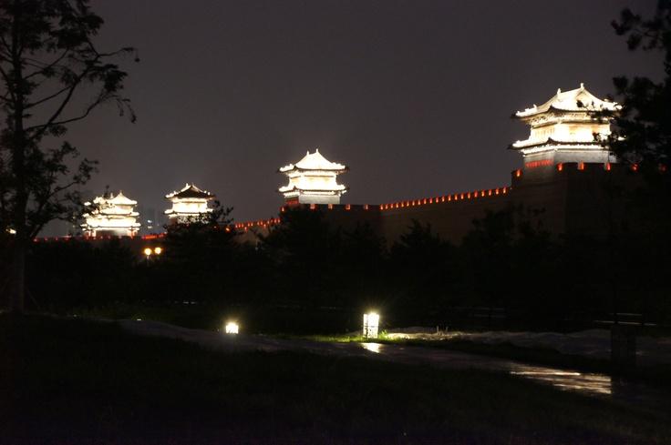 Stadsmuur van Datong, China