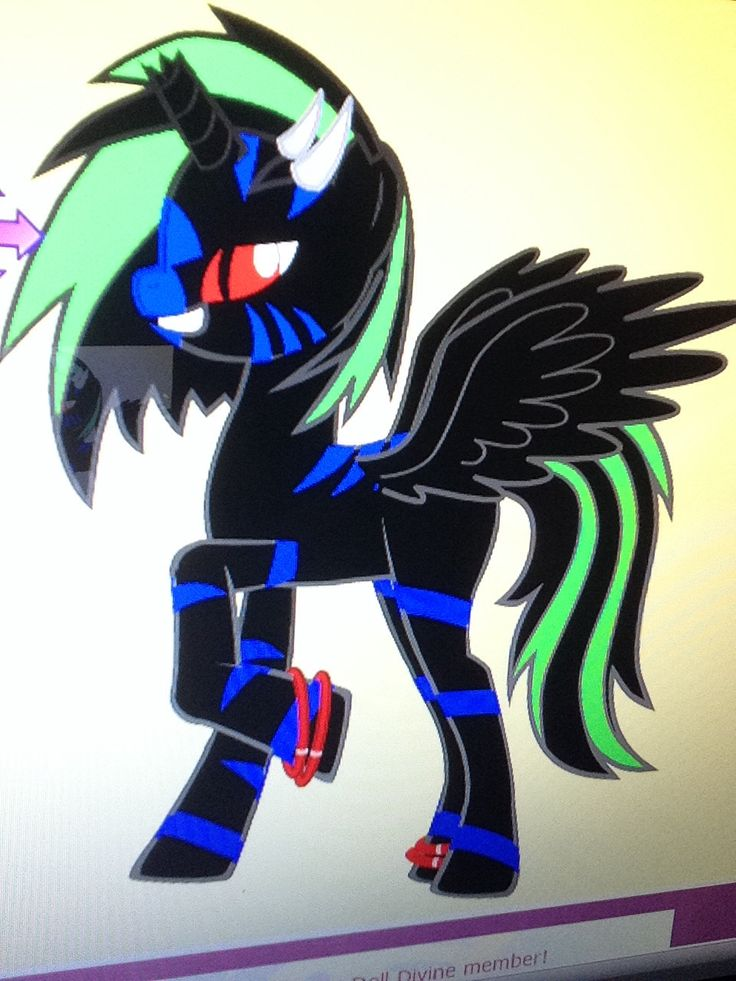 Battle Hoof. She was born an alicorn. She is a battle pony that's why ...: https://www.pinterest.com/BennyDrowned/pony-adoption/