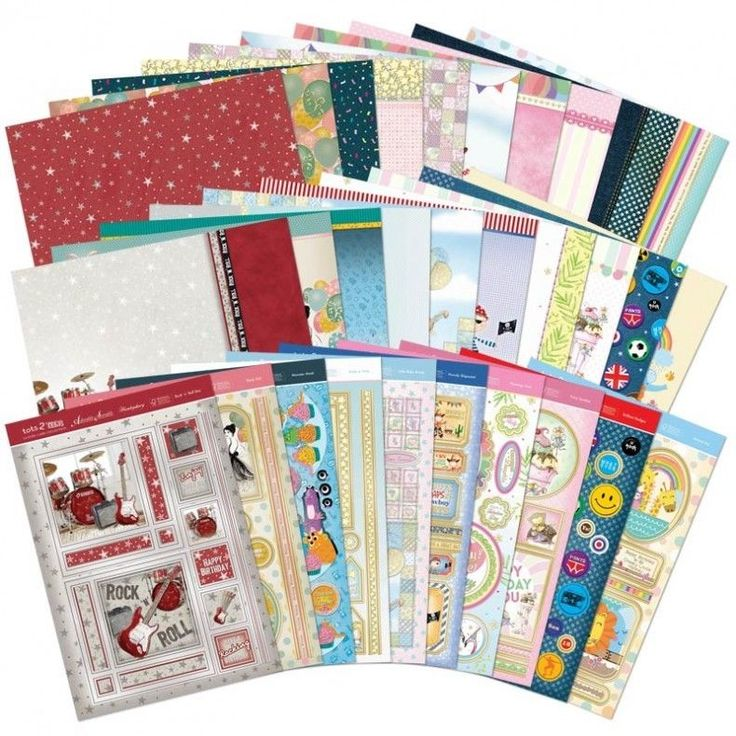 NEW Pick of the Week -BRAND new LUXURY CARD making KIT Hunkydory TOTS to TEENS