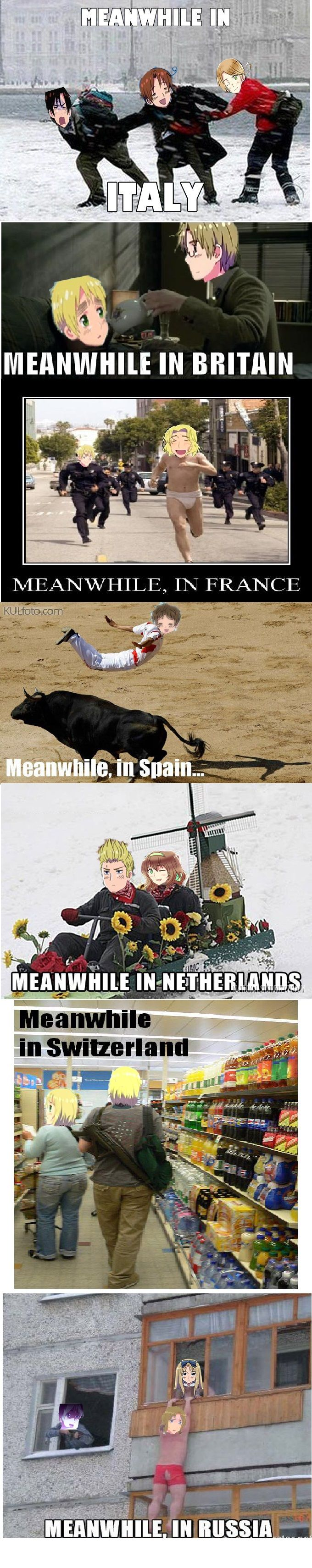 Meanwhile in Hetalia: Meanwhile in Hetalia
