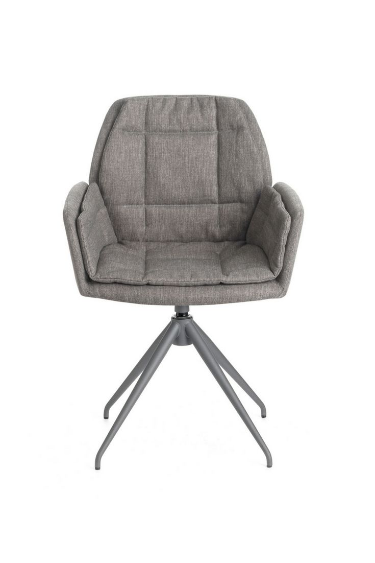 MOOD#98 PM07 by Mobitec. Rotative design chair with metal feet.