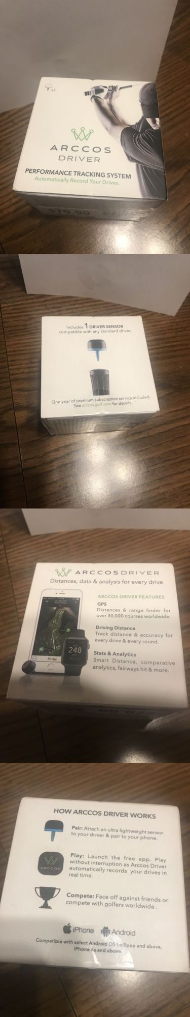 Other Golf Training Aids 14109: Arccos Driver Performance Tracking System Automatically Records Your Drives -> BUY IT NOW ONLY: $33.99 on eBay!