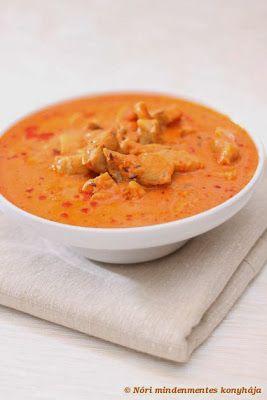 Nóri mindenmentes konyhája: Paradicsomos-kókuszos halcurry