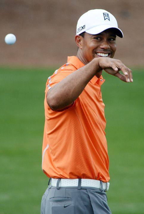 Tigers Practice Round | Masters
