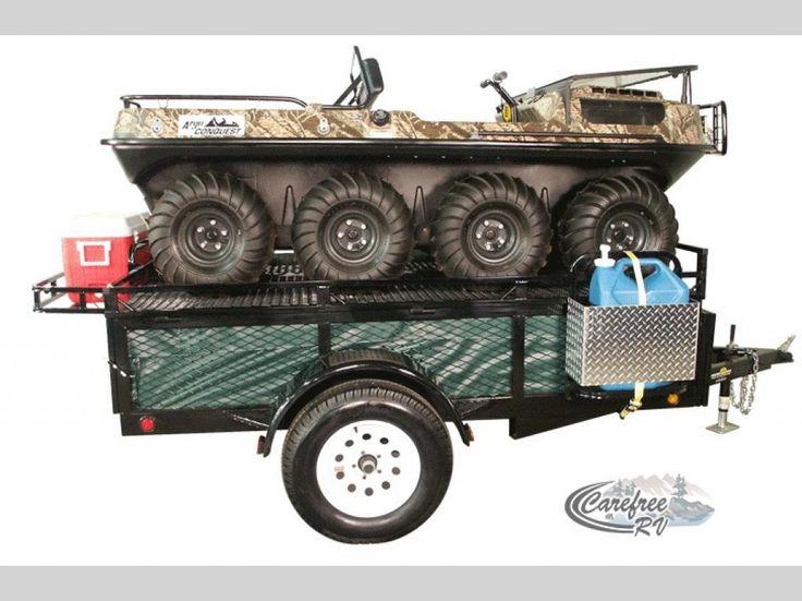 New 2016 Jumping Jack Original Series 6x8 Camping Utility Trailer Folding Pop-Up Camper at Carefree RV | Edmonton, AB | #NV14582