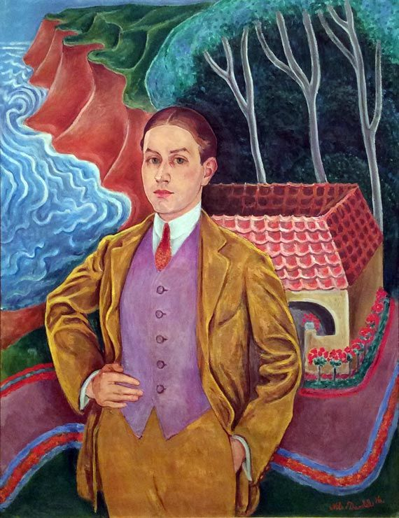 Nils Dardel Rolf de Maré, 1916, oil on canvas