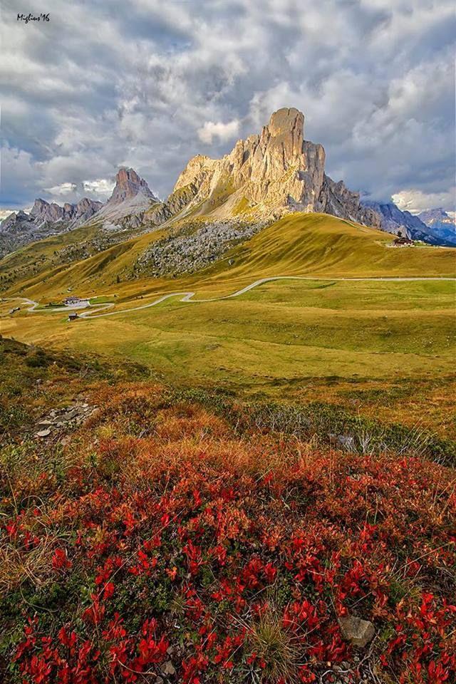 Passo Giau - Dolomites, province of Belluno, Veneto, Northern Italy