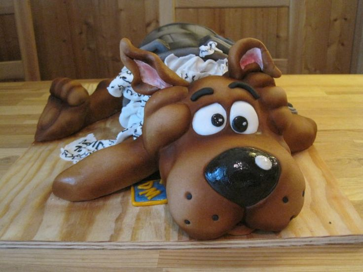 Scooby Doo - Cake by Eliska