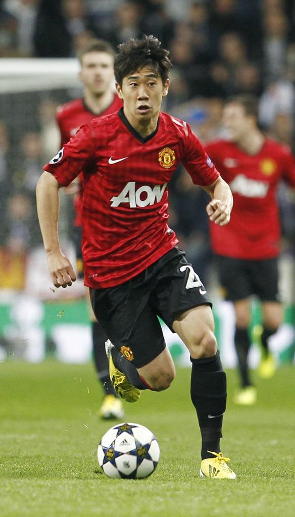 Shinji Kagawa(Manchester United) @2013.02.13, CL Round16 1st reg