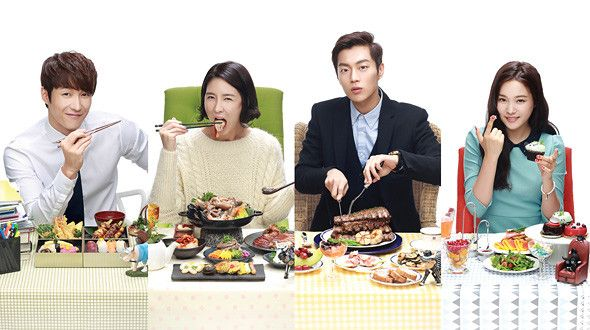 Let's Eat- So much of this drama is the devouring of yummy food! I love it!