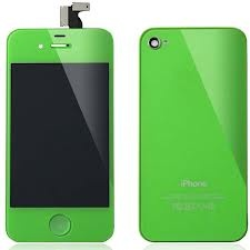 Green iPhone 4/4S LCD assembly - http://pnetworks.com.au
