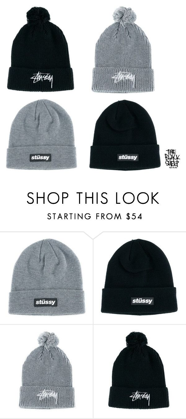 Winters Around The Corner. Keep Warm With A New Stussy Beanie For Just £34.95. by blacksheepstore on Polyvore