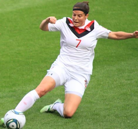 06. Rhian Wilkinson – $54,633 Top 10 Highest Paid Female Soccer Players 2015:- http://www.sportyghost.com/top-10-highest-paid-female-soccer-players/ #soccer #football #uswnt