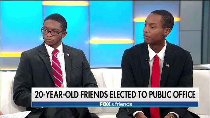 A pair of best friends are believed to be the youngest black Republicans ever to hold elected office in left-leaning Connecticut.