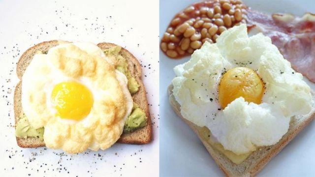 蒸水蛋、荷包蛋、炒蛋、溫泉蛋、滷蛋等等這些雞蛋食法通通都要讓路,現在社交網最時興的早餐蛋食法是它--...