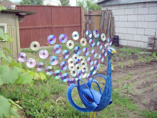 Tyre Peacock made with CD's and Chicken Wire http://thewhoot.com.au/whoot-news/diy/25-ways-to-repurpose-tyres?utm_source=The+WHOot+Daily+Mail&utm_campaign=0f9f4517af-RSS_Feed_v4_custom&utm_medium=email&utm_term=0_bb6c322de2-0f9f4517af-60947421