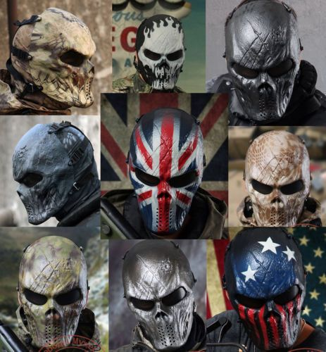 M06 Airsoft Paintball Cosplay Full Face Protection Skull Mask Tactical Gear | Sporting Goods, Hunting, Tactical & Duty Gear | eBay!
