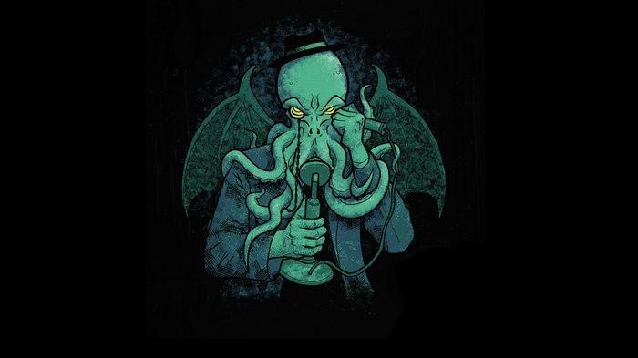 H P Lovecraft Cthulhu Wallpaper Lovecraft Cthulhu Cthulhu Lovecraft