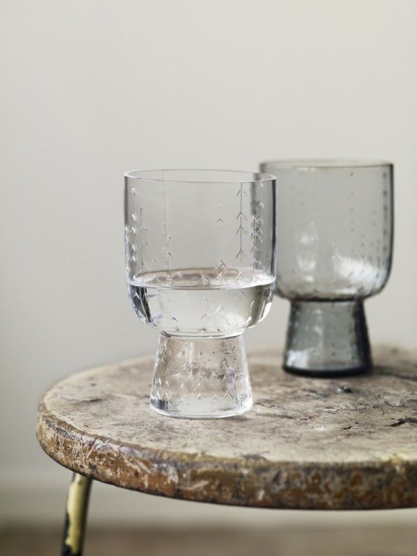 Glasses from Sarjaton collection by Iittala