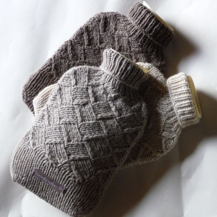 warmth----recycled soft woolen sweaters for a hot water bottle cover