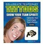 Colorado Buffaloes Face Tattoos by Westrick Paper. $6.99. Support Your Favorite School with these Temporary Face Tattoos