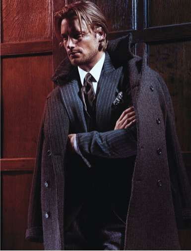 Gabriel Aubry in Details Magazine Looks Ready for Fall 2010 #suits #mensfashion trendhunter.com
