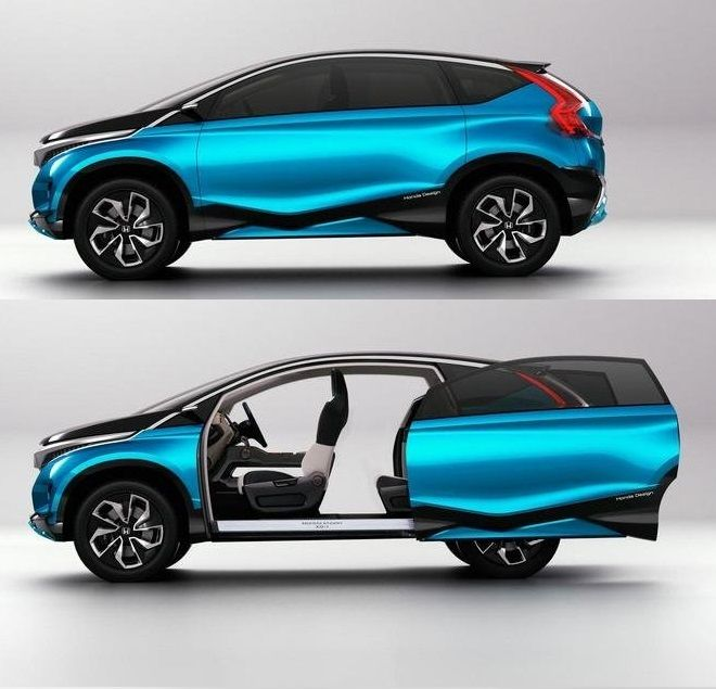 #Honda Vision XS-1 concept has some of the coolest doors we have seen on a concept car in a long time.