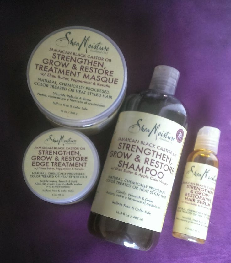 https://www.shorthaircutsforblackwomen.com/natural-hair-products/ Natural Hair Product Review: Shea Moisture Jamaican Black Castor Oil #naturalhair #sheamoisture natural hairstyles for black women shampoo