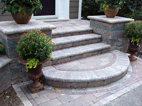 best 25+ front porch steps ideas on pinterest | front steps, porch ... - Patio Step Ideas