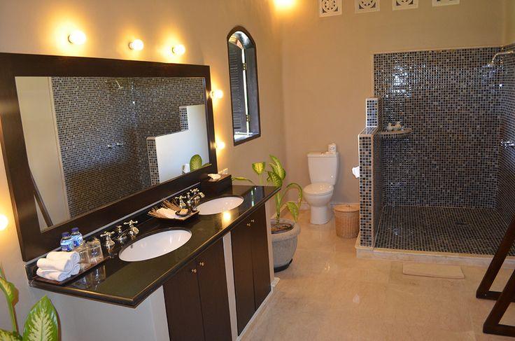 3 bedroom villa bathroom #dusunvillas #bali