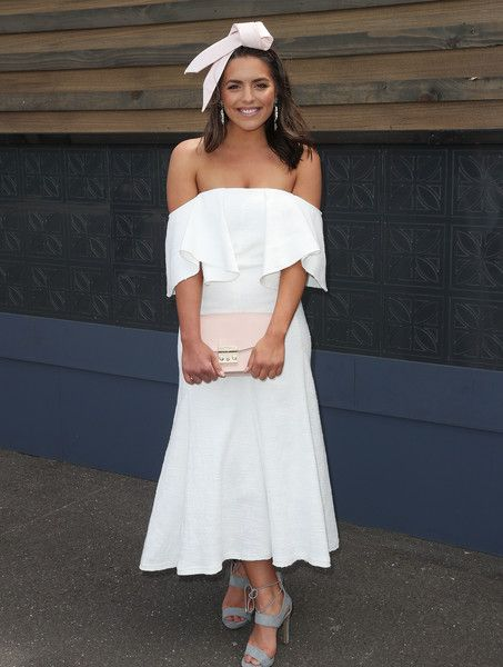Olympia Valance Photos Photos - Olympia Valance poses at the Emirates Marquee on Stakes Day at Flemington Racecourse on November 5, 2016 in Melbourne, Australia. - Celebrities Attend Stakes Day