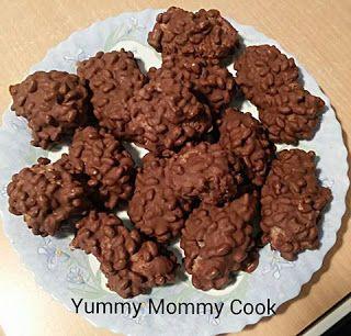 Yummy Mommy Cook: Σοκολατάκια τύπου derby