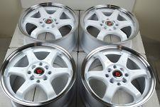 15 Wheels Chevy Aveo Cobalt Honda Civic Fit Del Sol CRX Elantra Miata 4 lug Rims