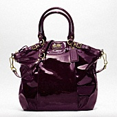 Coach. Purple. You can't go wrong.Patent Lindsey, Patent Leather, Handbags, Coaches Bags, Coaches Pur, Coaches Madison, Lindsey Satchel, Purses, Madison Patent
