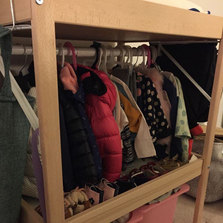 IKEA SNIGLAR changing table converts to a toddler's Mini Closet - IKEA Hackers - IKEA Hackers