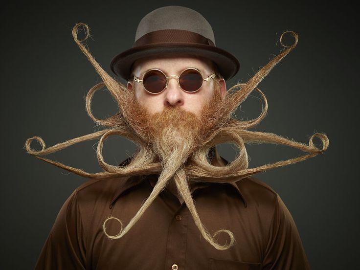 Les meilleures barbes du Championnat du monde de barbe et moustache 2017