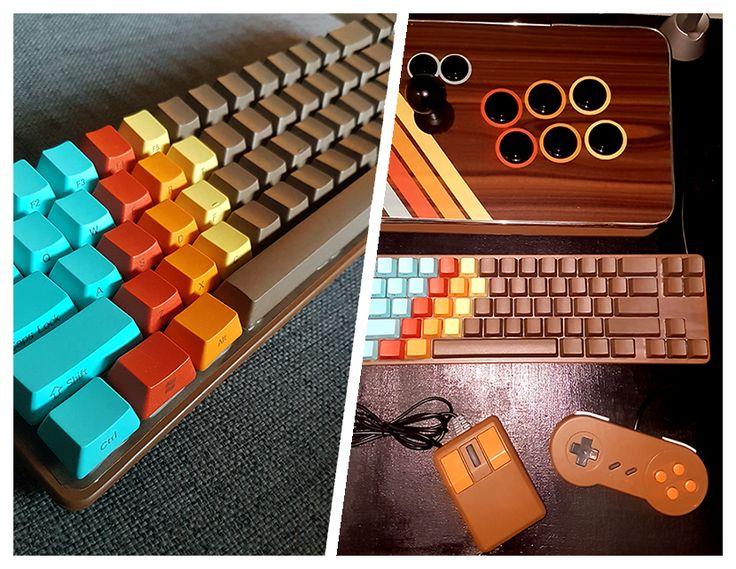 My new retro comouter build so far: wip diy raspberry pi 1976 computer