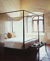 A room at the Sofitel Nicolas de Ovando Hotel. Santo Domingo, Dominican Republic.