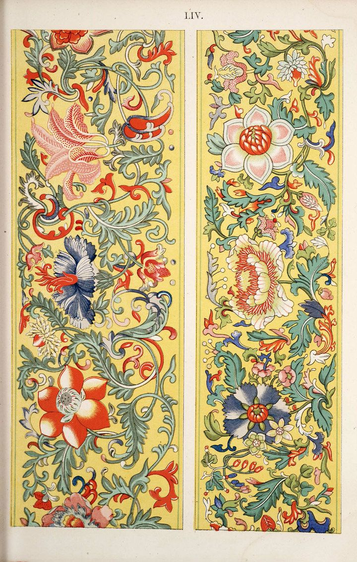 Traditional Chinese patterns, traditional Chinese flower ...