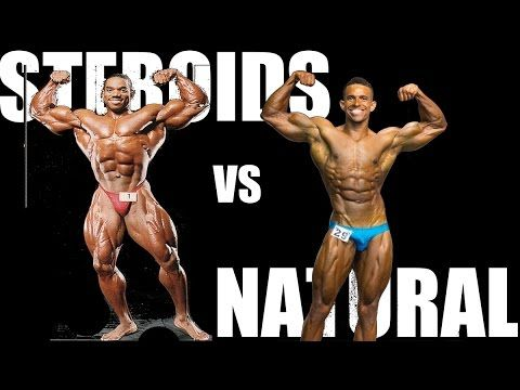 STEROIDS VS NATURAL BODYBUILDING! - YouTube | #Fitness