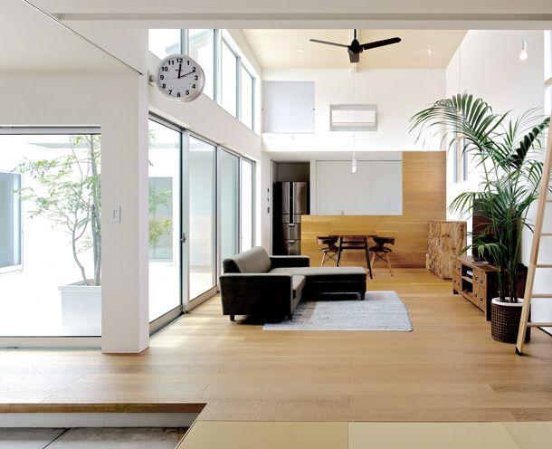 ひとつながりの家・間取り(福岡県糟屋郡)   注文住宅なら建築設計事務所 フリーダムアーキテクツデザイン