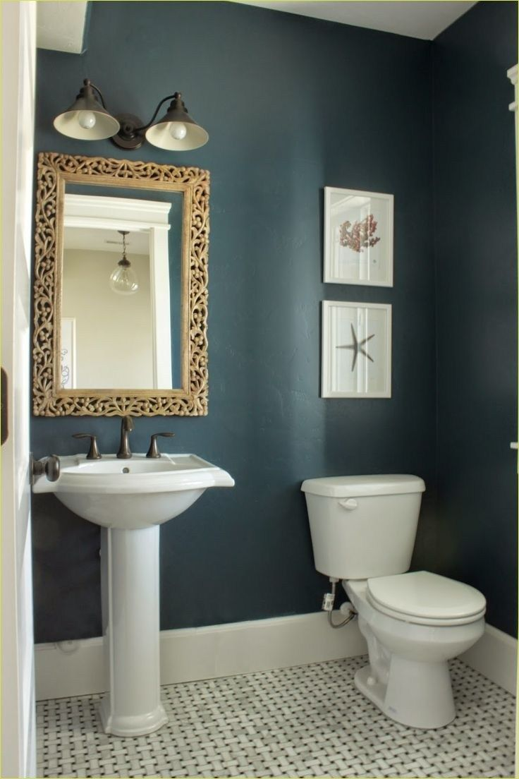 39 Beautiful Bold Bathroom Color Ideas Small Bathroom Paint