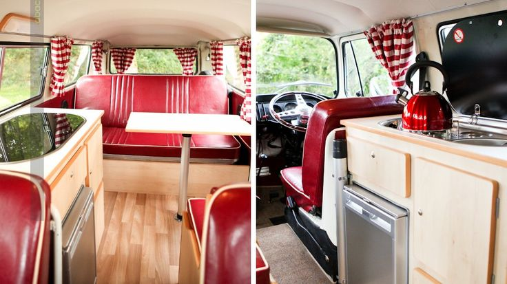 10 fa ons cool d am nager un combi vw volkswagen photos et d co. Black Bedroom Furniture Sets. Home Design Ideas